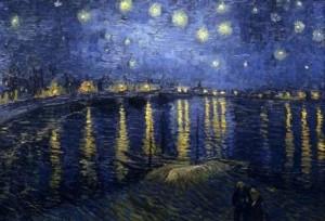 "Vincent van Gogh, ""Gwiaździsta noc"""