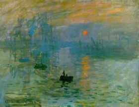 "Monet, ""Impression, Sunrise"""